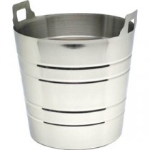 Genware Stainless Steel Wine Bucket 200x190mm