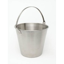 Genware Stainless Steel Economy Bucket 12L