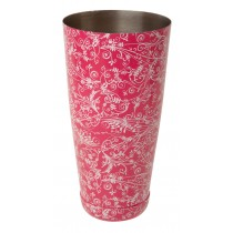 Mezclar Pink Floral Boston Can 28oz