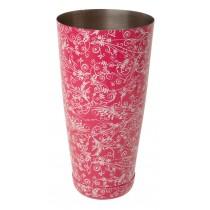 Mezclar Pink Floral Boston Can 28oz