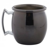 Berties Gun Metal Mini Barrel Mug 6cl/2oz