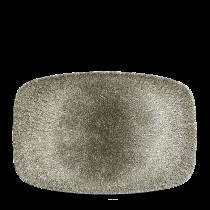 """Churchill Studio Prints Raku Chef's Plate No.8 Quartz Black 30x19.9cm-11.8x7.8"""""""