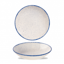 Churchill Stonecast Hints Coupe Bowl Indigo Blue 42.6cl-15oz
