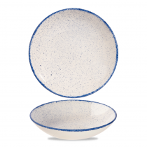 Churchill Stonecast Hints Coupe Bowl Indigo Blue 113.6cl-40oz