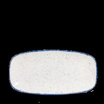 "Churchill Stonecast Hints Chef's Plate No.3 Indigo Blue 29.8x15.3cm-11.75x6"""