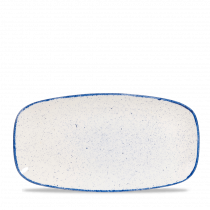 "Churchill Stonecast Hints Chef's Plate No.4 Indigo Blue 35.5x18.9cm-14x7.4"""