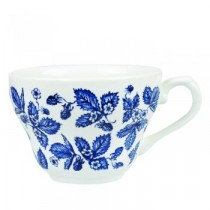 Churchill Vintage Georgian Teacup Blue Bramble 20cl/7oz