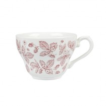 Churchill Vintage Georgian Teacup Cranberry Bramble 20cl/7oz