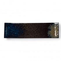 "Heritage Stoneware Strata Patina Sleigh Platter 35.5cm-14"""
