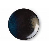 "Heritage Stoneware Strata Patina Coupe Plate 26.5cm-10.4"""