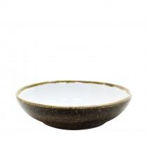 "Sango Java Salad Bowl Woodland Brown 22.5cm-9"""