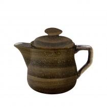 Sango Java Teapot Woodland Brown 40cl-14oz