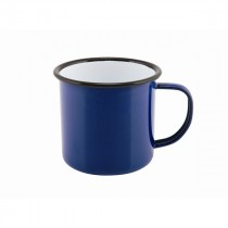 Berties Enamel Mug Blue 36cl/12.5oz