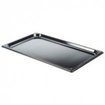 Genware Enamel Baking Tray GN 1/1 20mm Deep