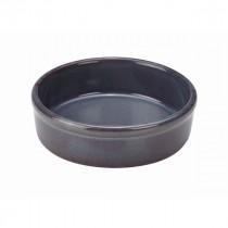 "Terra Stoneware Tapas Dish Blue 13cm-5.1"""