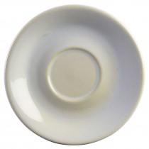 Terra Stoneware Rustic Saucer White 15cm