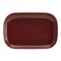 Terra Stoneware Rectangular Plate Red 29x19.5cm