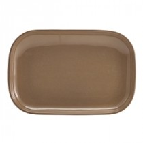 Terra Stoneware Rectangular Plate Brown 29x19.5cm