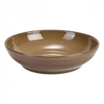 Terra Stoneware Coupe Bowl Brown 27.5cm-10.75""