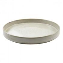 "Terra Porcelain Presentation Plate Grey 26cm-10.25"""