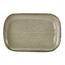"Terra Porcelain Rectangular Plate Grey 29x19.5cm-11.4x7.7"""