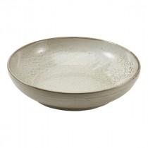 """Terra Porcelain Coupe Bowl Grey 27.5cm-10.75"""""""