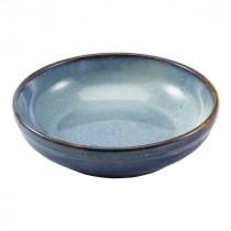 """Terra Porcelain Coupe Bowl Aqua Blue 23cm-9"""""""