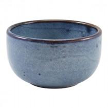 """Terra Porcelain Round Bowl Aqua Blue 12.5cm-4.9"""""""