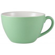 Genware Bowl Shaped Cup Green 34cl-12oz