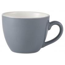 Genware Bowl Shaped Cup Grey 9cl-3oz