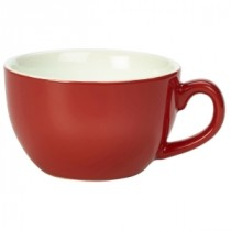 Genware Bowl Shaped Cup Red 17.5cl-6oz