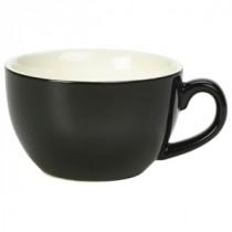 Genware Bowl Shaped Cup Black 17.5cl-6oz