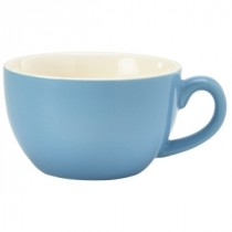 Genware Bowl Shaped Cup Blue 17.5cl-6oz
