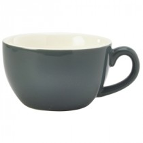 Genware Bowl Shaped Cup Grey 17.5cl-6oz