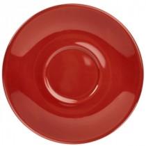 "Genware Saucer Red 13.5cm-5.3"""