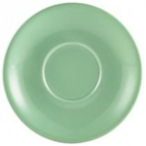 """Genware Saucer Green 13.5cm-5.3"""""""