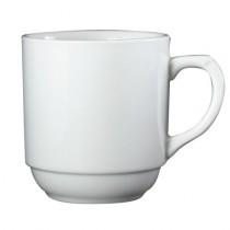 Genware White Stacking Mug 30cl/10.5oz