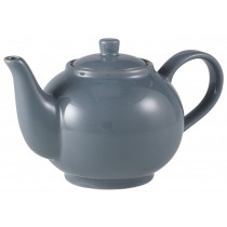 Genware Teapot Grey 45cl-15.75oz