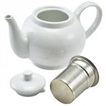 Genware Teapot with Infuser 45cl/15.75oz