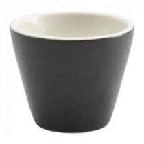 """Genware Conical Bowl Matt Finish Black 6cm/2.25"""" Diameter"""
