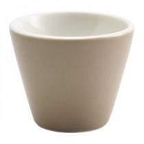 "Genware Conical Bowl Matt Finish Stone 6cm/2.25"" Diameter"