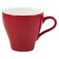 Genware Tulip Cup Red 28cl-10oz