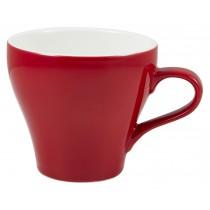Genware Tulip Cup Red 35cl-12.25oz
