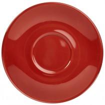 "Genware Saucer Red 14.5cm-5.75"""