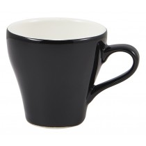 Genware Tulip Cup Black 9cl-3oz