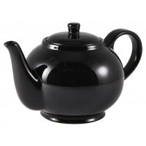 Genware Teapot Black 85cl-30oz