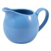 Genware Milk Jug Blue 14cl-5oz