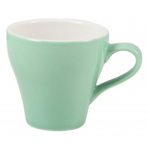 Genware Tulip Cup Green 9cl-3oz