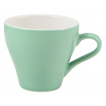 Genware Tulip Cup Green 18cl-6.25oz