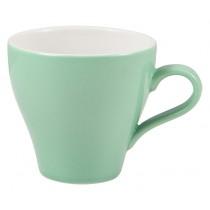 Genware Tulip Cup Green 28cl-10oz